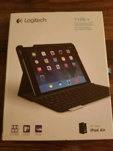 Logitech Integrated Keyboard and iPad air case