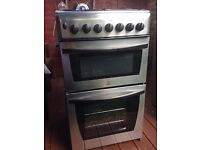 Indesit 50cm Stainless Steel Gas Cooker