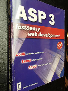 ASP 3 Fast & Easy Web Development with CD