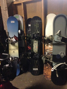 SNOWBOARD BLOWOUT SALE all snowboards $50 each!