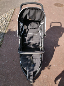 Pushchair - Hauk Viper Jogger Buggy, Caviar/Grey