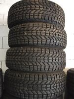 215/60/16 set of Firestone Winterforce Tires
