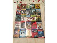 130 Assorted DVD's