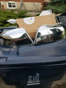 Toyota Tundra side mirror chrome cover
