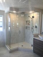 custom glass shower doors..we are the best for less