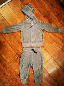 M&S jogging suit 12-18 months
