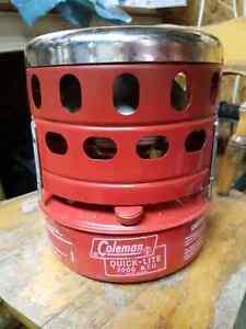 Coleman heater model 518 C