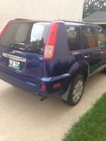 Safetied 2005 nissan x trail