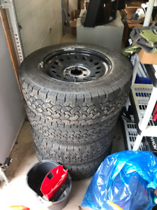 245/70/17 Winter Rims  and Tires to  fit GM/Chev Pickup