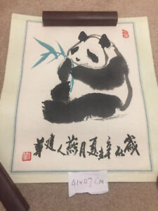 Chinese painting not printed, hand drawn