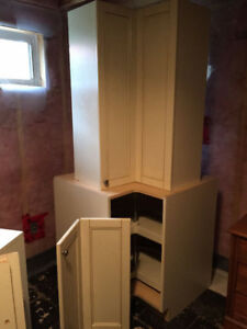 2 Kitchen / Laundry Cabinets