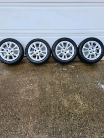 "16"" Vauxhall alloy wheels 4 stud"