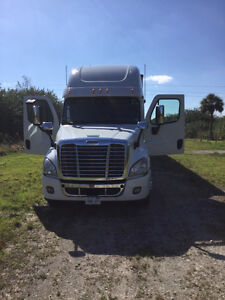 Truck Freightliner Cascadia and reefer trailer 2011 for sale