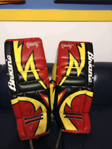 *reduced* Brians Beast Goalie pads 34+1""