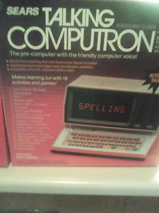 Talking computron