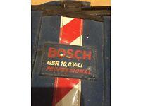 Bosh screwdriver and drill
