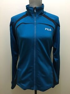 Womens Fila Full zip Sweater