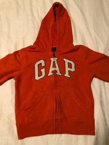 Boys Gap Hoodie 5T - Excellent Condition