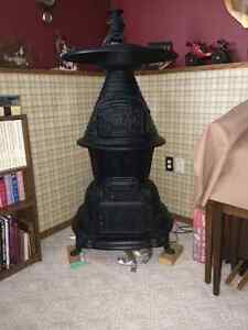 Free Cast Iron Pot Belly Stove