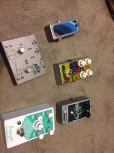 Guitar Pedals - BOSS, EHX, uSound and MORE