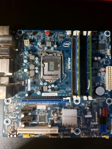 [Bundle] Intel Desktop Board DH67BL H67 Motherboard with 8GB RAM