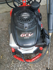 Gas Power Washer 2600 PSI   Honda Motor             2.3GPM