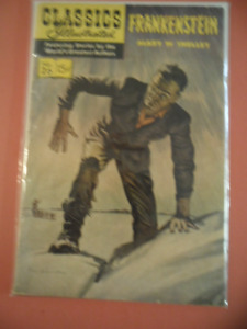 CLASSICS ILLUSTRATED FRANKENSTEIN BY  MARY W SHELLEY