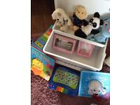 Tippy Toes Baby Changing Travel box with extras