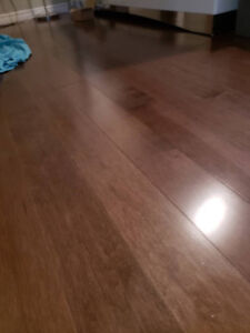 super great quality hard wood floor -75 square ft available