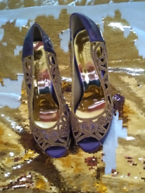 New purple and gold shoes 5
