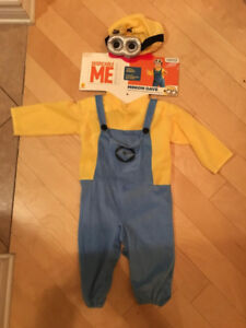 Minion Halloween costume toddler 1-2 years