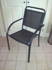 Set of 4 Outdoor Patio Chairs