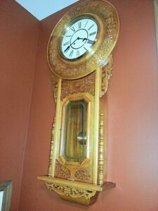 Large wall clock with presence London Ontario image 2