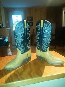 HONDO SPANISH SHOULDER COWBOY BOOTS