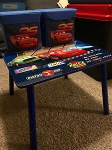 Cars table and stool set