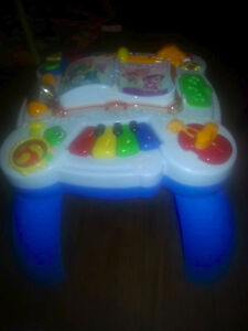 Activity Center. Needs a quick wipe and new batteries. $10