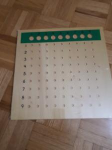 New Montessori Division Board---$30