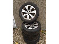 """16"""" Vauxhall vectra alloys"""
