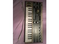 Korg microkorg synthesiser synth mint condition