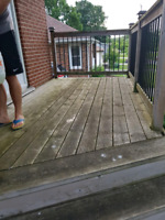Deck Cleaning/ Staining