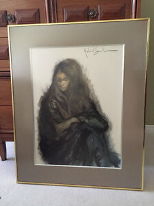 Picture for sale - frame is worth the price alone!