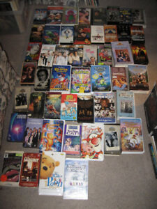 VHS Movies-$1 each-Great selection