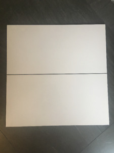 "Pure White Porcelain Tile 12""x24"""