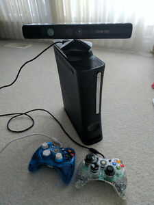 Xbox 360 Bundle (Kinect, Kinect Racing Wheel, Games and more)