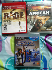 3 PS3 GAMES LEFT - $10 EACH