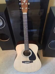 Yamaha f210 acoustic guitar for sale with lots of extras