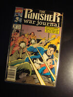 MARVEL COMICS-THE PUNISHER-WAR JOURNAL