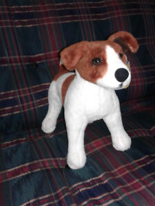 JACK RUSSELL TERRIER STUFFED DOG TOY