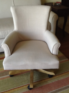 Fabric home office chair