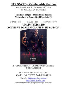 STRONG By Zumba with Sherisse - HIIT WORKOUTS